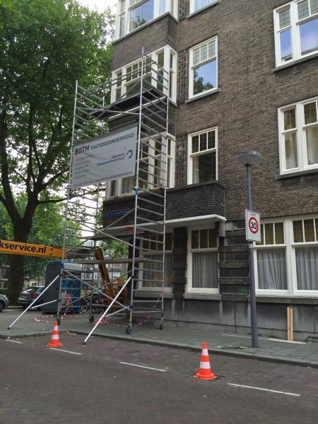 Schilderwerk en houtrotherstel VvE Statenweg Rotterdam