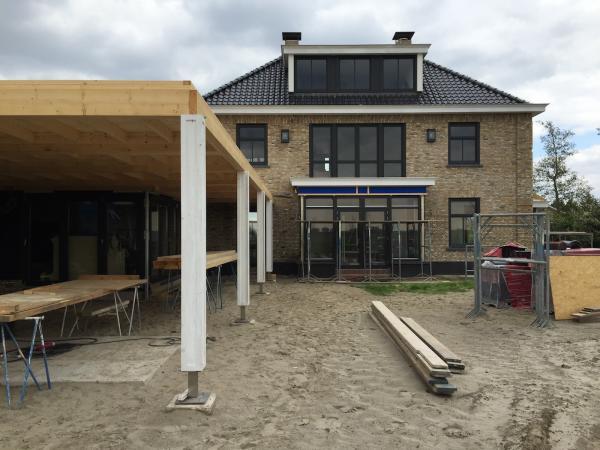 Schilderwerk woning Nieuw-Beijerland