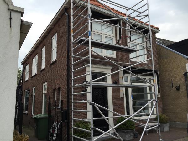 Schilderwerk woonhuis Ridderkerk